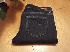 WOMENS PAIGE SKYLINE SLIM STRAIGHT LEG JEANS 28 X 27 MADE IN USA...VERY NICE!