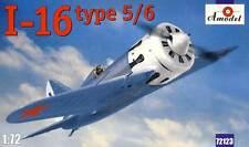 Amodel Polokarpov I-16 type 5/6 Finland Spain China USSR 1:72 Modell-Bausatz kit