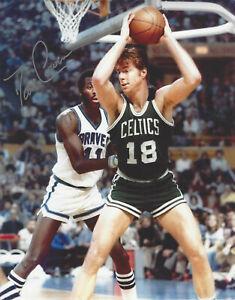 Boston Celtics Dave Cowens autographed 8x10  photo & bonus signing photo  **