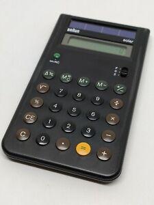Vintage Braun Solar calculator 4 777