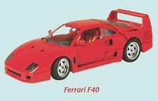 Ferrari F40 Classic Car Fridge Magnet