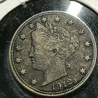 1912-D LIBERTY NICKEL BETTER DATE COIN