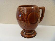 Vintage Football Ceramic/Porcelain Large Coffee Mug/Cup - Made In Usa