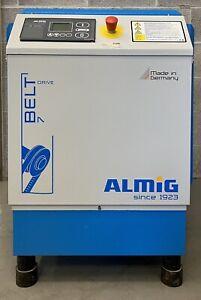 ALMIG Belt 7-8 Floor Mounted Rotary Screw Compressor, 7.5Kw, 10Hp, 42Cfm! 8Bar!