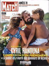 PARIS MATCH N°3561 11 AOUT 2017  HANOUNA_CHARLOTTESVILLE_MENACE NUCLEAIRE_GARRN
