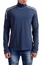 C'N'C Costume National Navy Men's Turtleneck Sweater US 2XL IT 56