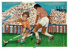 New listing Togo 1984 SC# C500 - Olympics Field Hockey Sport - Imperf Souvenir Sheet - MNH
