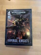 Codex Imperial Knights - 8th Edition, Warhammer 40k