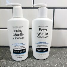 Neutrogena Extra Gentle Facial Cleanser - NEW - 2 pack - Fragrance Free 6.7 oz