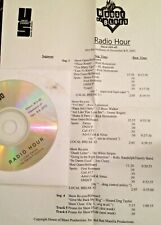 RADIO SHOW:HOUSE OF BLUES 11/8/03 RICK HOLMSTROM FEATURE w/4 SONGS;WHITE STRIPES