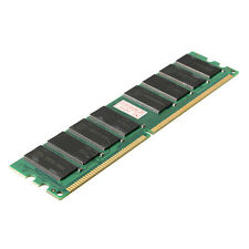 1GB DDR400 400MHz PC3200 184 Pin Non-ECC DIMM Low Density Desktop PC  Memory RAM