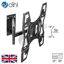 "Swivel Tilt Wall Mount Bracket 22 26 32 40 42 46 48 50"" LED LCD Plasma TV VESA"