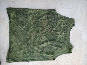 Russian Military Camo EMR Digital Flora Sleeveless T-Shirt, Medium