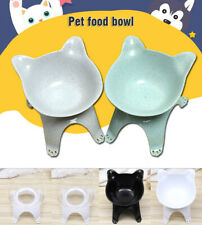 Anti-Vomiting Orthopedic Feeder Pet Dog Cat Feeding Single Bowl Protect Neck