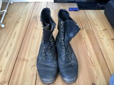 Chippewa Boots Mens, Made In USA ,used Leather Work Boots.Size 9.5 D