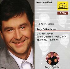 Auryn Quartett, Ludwig van Beethoven - String Quartets 2 [New CD]