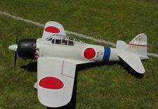 Giant A6M Zero 91 (environ 231.14 cm) WS Scratch Build r/c Avion Plans & Patterns