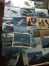Mixed lot of Navy Army Helicopter Pictures Spec Technical Sheets Sikorsky 1980's