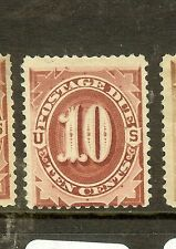 UNITED STATES (P1104B) POSTAGE DUE 10C  SCJ26  MOG