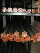 """Hex bar, 1018 steel, Hex cold finished 1"""" x 36"""""""