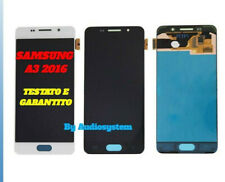 DISPLAY LCD TOUCH SCREEN SAMSUNG per GALAXY A3 2016 SM-A310F 310DS VETRO SCHERMO