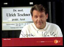 walter Plathe ZDF Autogrammkarte Original Signiert ## BC 52477