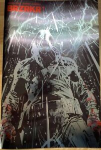 BRZRKR #1 Rare Foil Second Print Garney Variant HTF NM Keanu Reeves