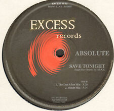 ABSOLUTE - Save Tonight - Excess