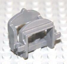 LEGO GRAY SADDLE ~ w/ 2 Clips Minifigure Minifig Horse Camel Animal Castle  NEW