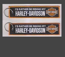 Harley Davidson Llavero ID más bien ser montar mi Harley. Moto, rápido de Reino Unido (E7)