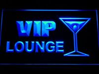 m103-b VIP Lounge Cocktails Neon Light Sign