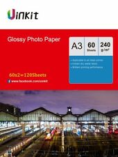 A3 Inkjet Paper 240Gsm High Glossy Photo Paper Printer 420x297 - 120 Sheets