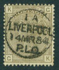 SG 160 4d PIASTRA 18 annullato da una fresca completa Liverpool PLO (pacchetto lettera.