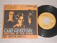 """RIZ ORTOLANI - CARI GENITORI / MEETING AT PUB SWAN - 45 GIRI 7"""" ITALY"""