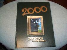"2000 CUMBERLAND REGIONAL HIGH SCHOOL YEARBOOK SEABROOK  BRIDGETON NJ ""INVICTUS"""