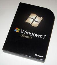 Genuine Microsoft Windows 7 Ultimate 32/64 Bit Full Version + Key