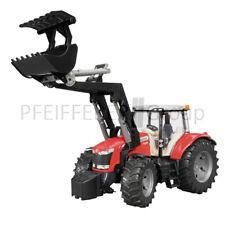 Bruder MASSEY-FERGUSON 7624 mit Frontlader 1:16 Traktor Spielzeugtraktor Modell