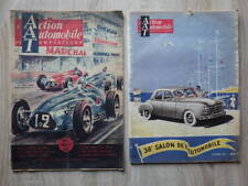 2x L'ACTION AUTOMOBILE ET TOURISTIQUE Octobre 1951 SPECIAL SALON + Juillet 1950