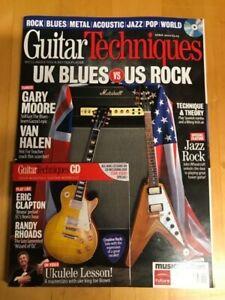 Guitar Techniques Magazine & CD: April 2010