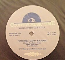 Radio Show:USAF COUNTRY MUSIC TIME #1069/70 MARTY HAGGARD/BELLAMY BROS IN STUDIO