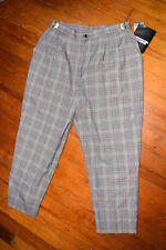 Counterparts Dress Career Pants Adjustable Black White Red Stretch Plus 20W  NWT