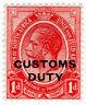 (I.B) South Africa Revenue : Customs Duty 1d