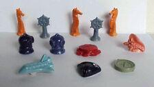 12 Wade Miniature Nautical Figures Compass, Seahorse, Crab, Helmet, Shuttle more