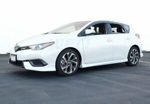 WellVisors For 16-18 Toyota Corolla iM | Scion iM Side Window Visors Rain Guards