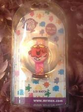 Mr Men Little Miss Chatterbox LCD Wrist Watch Brand New Original Box
