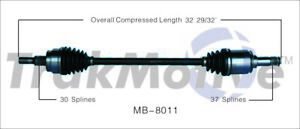 SurTrack MB-8011 CV Axle Shaft