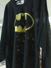 Batman comic book logo shirt MESH long sleeve XL men's NEW OLD STOCK Gotham