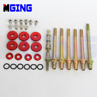Engine Valve Cover Washer Bolt Low Profile FOR Acura Honda K-Series K20 K24 RED