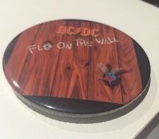 AC/DC - Fly In The Wall Rock Music Badge 75mm.