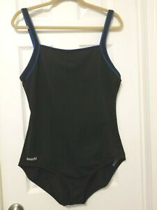 Vtg Speedo Endurance Swimsuit One Piece Bathing Suit Size 16- SEE MEASUREMENTS